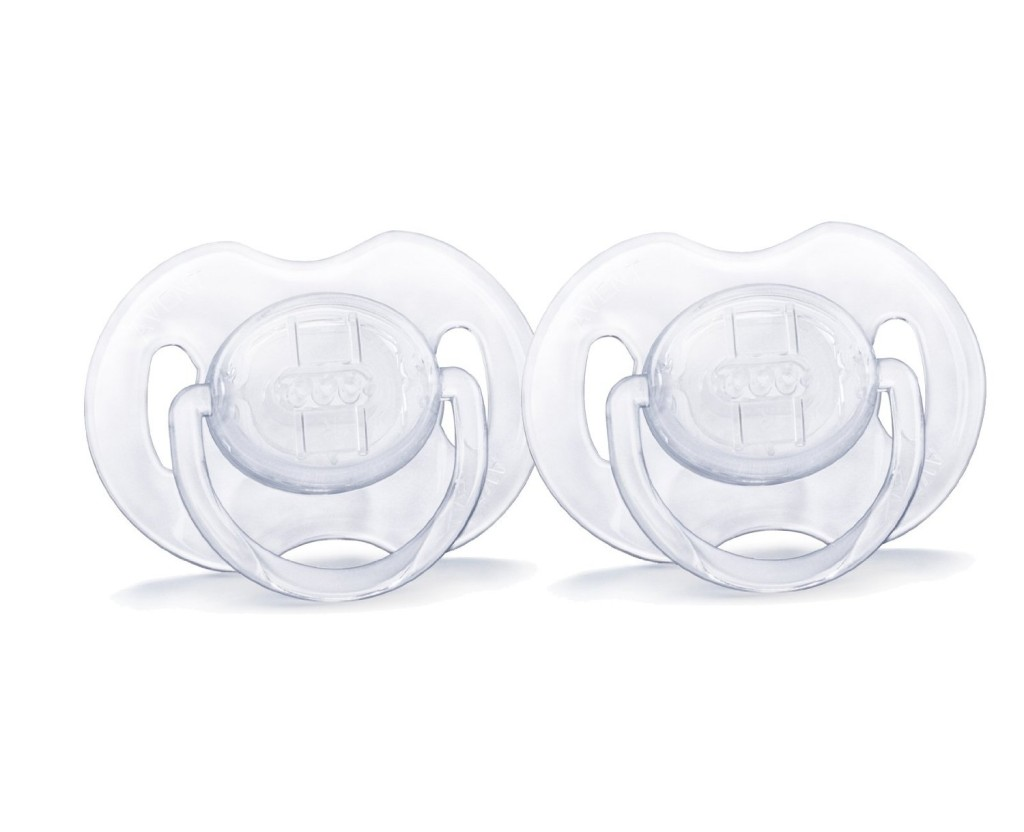 philips translucent pacifiers