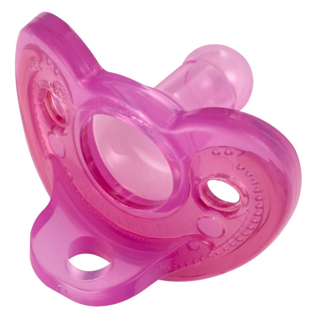 pink pacifiers