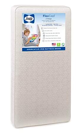 Sealy baby flex cool crib mattress
